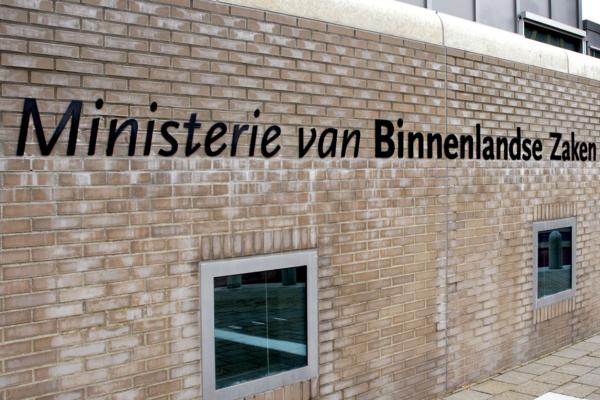 Ministerie van Binnenlandse Zaken | Groeneveld Sign Systems
